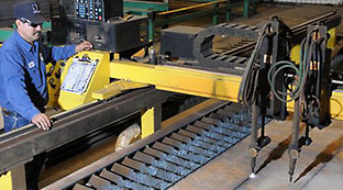 Bertsch, IKEDA and ESAB machines help Mobil Steel meet customer project needs