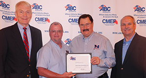 Mobil Steel's safety and health program meets guidelines of the ABC Safety Training Evaluation Process (STEP) program, demonstrating Mobil Steel's commitment to safety and health.
