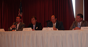 Mobil Steel sponsored a panel discussion to provide updates on chemical industry and contractor workforce development initiatives.