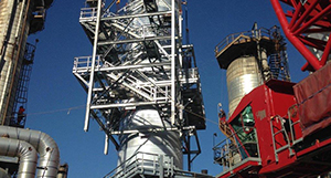 Mobil Steel fabricates steel for industrial facilities, refineries and chemical plants