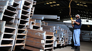 Mobil Steel has production capacity of more than 1,000 tons per month